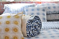 Hand-Blocked Bedding from India: Remodelista
