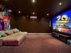 Love the movie room! HolidayHouseGoldCoast.com