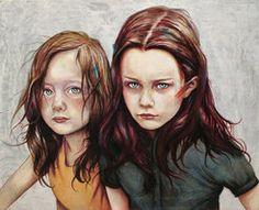Kierra y Darcy por MichaelShapcott #draw #illustration