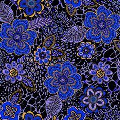 Elizabeths Studio AfricanSpirit AfricanSpirit Blue M314 Blue