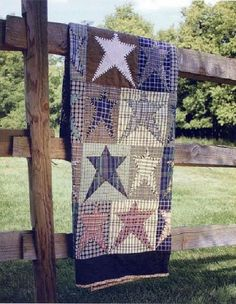 Primitive star Quilt - I want to make one someday!!!