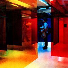 "Transchromie: 1980 - 1989: 1981  Transcromía in the ""Cruz-Diez"" exhibition  Museo de Arte Contemporáneo de Caracas, Venezuela  [See location on map]  Museo de Arte Contemporáneo de Caracas, Venezuela, 1981"