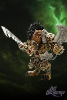 100/% GENUINE CHECK QUALITY GANGRIS RIVERPAW WARCRAFT Premium 8 Inch FIGURE