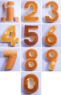 Cómo hacer tartas fáciles de números - Torten, Kuchen etc - Number Birthday Cakes, Number Cakes, Cake Birthday, Diy Birthday, Cake Decorating Techniques, Cake Decorating Tips, 30th Birthday Ideas For Women, Cake Shapes, Cake Tutorial