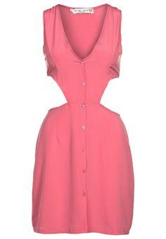 Sexy Look garantiert. Pinkes Kleid von Oh My Love: http://zln.do/JqXQyt