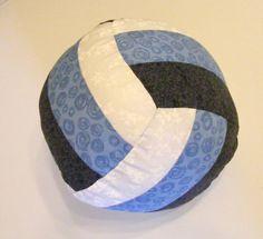 DIY volley ball pillow