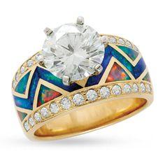 Favorite ring of all time...santa fe goldworks.