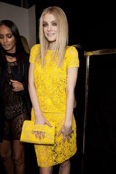 Jessica Stam- love that dress... fav color