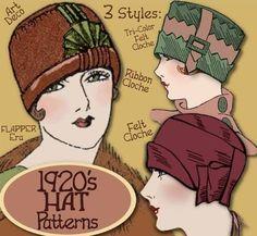 1920 cloche hat - Google Search