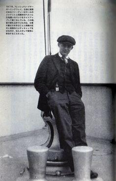 Hemingway & Reporter stylish new face probationer (jazz suit)  Dress Fashion / Hemingway Style  ヘミングウェイの愛用品/ファッション・ドレス篇 〜お洒落な新人見習い記者(ジャズ・スーツ)〜