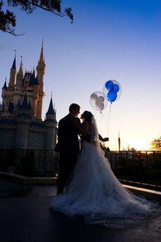 Begin the adventure of a lifetime with a little magic from Disney's Fairy Tale Weddings & Honeymoons. Photo: Stephanie, Disney Fine Art Photography