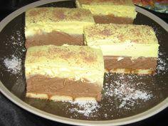 Picture of Recept - Fenomenálne rezy bez pečenia Kolaci I Torte, Vanilla Cake, Tiramisu, Ham, Sweet Tooth, Cheesecake, French Toast, Cooking Recipes, Favorite Recipes
