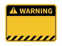 Señal de advertencia en blanco. | Premium Vector #Freepik #vector #fondo #etiqueta #edificio #sticker Graffiti Alphabet, Graffiti Lettering, Graffiti Art, Illustration Plate, Bike Photography, Construction Birthday, Photo Wall Collage, Warning Signs, Aesthetic Stickers