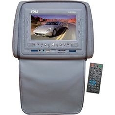 Special Offers - Pyle PLD72GR Adjustable Headrest w/ Built-in 7 TFT/LCD Monitor w/ Built-in DVD Player & IR/FM Transmitter With Cover (Gray) - In stock & Free Shipping. You can save more money! Check It (April 28 2016 at 10:05AM) >> http://caraudiosysusa.net/pyle-pld72gr-adjustable-headrest-w-built-in-7-tftlcd-monitor-w-built-in-dvd-player-irfm-transmitter-with-cover-gray/
