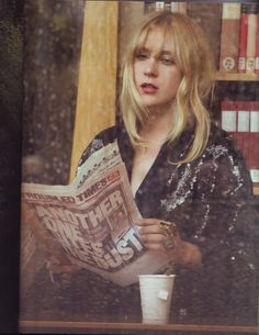 Chloe Sevigny by Peter Lindbergh - Harper's Bazaar Sep 2007