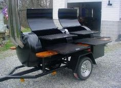 smoker trailer on Pinterest | 41 Pins