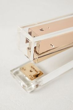 Have you seen the Lucite Lux® desk collection @anthropolgie.