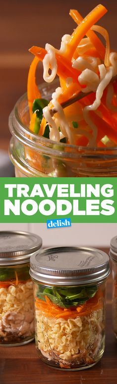 These traveling noodles are the best thing to do with ramen. Get the recipe on Delish.com.