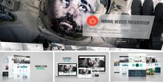 Minimal Website Presentation (Videohive)