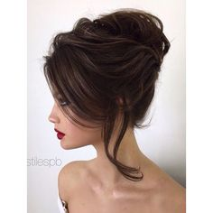 Wedding Hairstyles Elstile wedding hairstyles for long hair 46 2016 ❤ liked on Polyvore featuring beauty products, haircare, hair styling tools and hair
