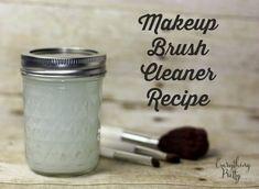DIY Makeup Brush Cleaner Recipe