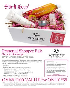 Become a personal shopper for only $69 plus s/h. Your chance to get my discount as a customer!