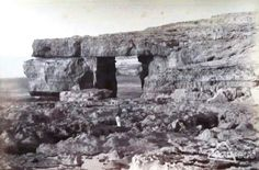Azure Window, Gozo, Malta, in the 1880s