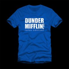Dunder Mifflin T-Shirt – Poputees.com