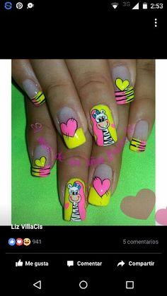 Vɩѵɩaŋa Work Nails, Toe Nail Designs, Birthday Nails, Toe Nail Art, Makeup Art, Finger, Beauty, Tao, Margarita