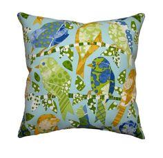 Bird Pillow color scheme 2 - my favorite so far!!!