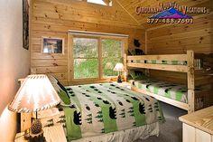 Raccoon Retreat a Cherokee NC log cabin rental that is pet ...