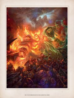 Vista previa de World of Warcraft: Chronicle e ilustraciones - WowChakra Fansite de World of Warcraft en Español