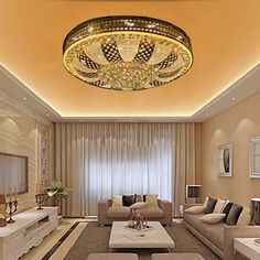 Room Lights, Ceiling Lights, Cozy Room, Living Room Lighting, The Help, Interior Design, Tv, House, Home Decor