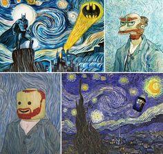 Van Gogh Parodies
