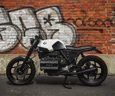 My #bmw #k100 #bmwk100 #motorrad #caferacer #scrambler #customized #special #dna