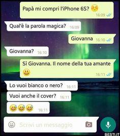 Funny Images, Funny Photos, Funny Texts, Funny Jokes, Tumblr, Funny Chat, Italian Memes, Text Jokes, Good Jokes
