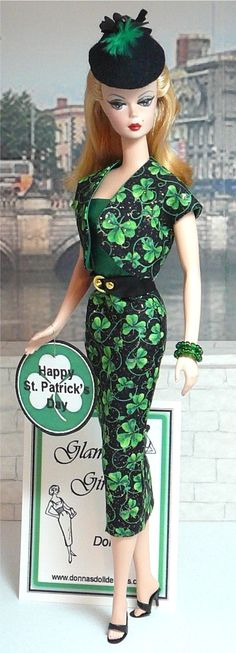 Happy St Patricks Day Barbie