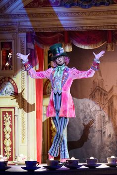 Donald Thom as the Mad Hatter in Alice's Adventures in Wonderland, The Royal…