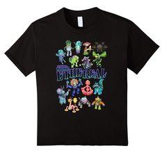 Kids My Singing Monsters: Ethereal Monsters T-shirt 12 Black
