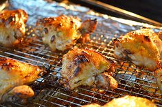 The Paleo Kitchen's Honey Mustard Chicken Wings http://nomnompaleo.com