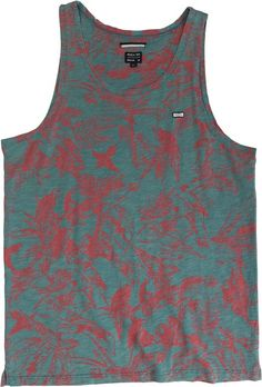 03d1a762b6421a RVCA SQUAWKER TANK Mens Clothing Tanks