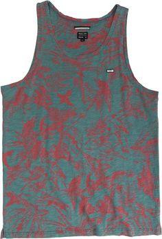 RVCA SQUAWKER TANK  Mens  Clothing  Tanks | Swell.com