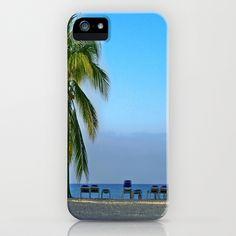 Trinidad Beach, Cuba, Early Morning iPhone Case by Lynn Bolt - $35.00