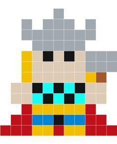 Stickaz - Thor pixel art