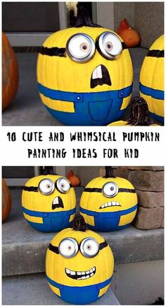 Fall has just arrived and it means Halloween is knocking at the door.  It's a great occasion for all including the kids. Kids want to do something on  every special day. When they want to do something for the Halloween with  pumpkin you can help them out. We have gathered down some whimsical pumpkin  painting ideas for kids to do it at home.  #halloween #PumpkinPaintingIdeas #PumpkinPaintingIdeasforkids #PumpkinPaintingIdeasdisney  #PumpkinPaintingIdeascreative