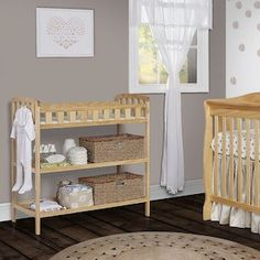Dream On Me Emily Changing Table   Natural