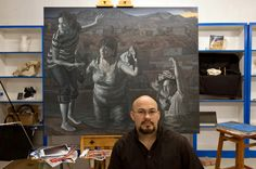 Artists on both sides of the border in the Rio Grande Valley are using their work to call attention to immigration issues and a rise in drug violence in the region.