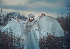 Фотограф: Екатерина Диордиева. Swan-princess by  Ekaterina Dierdieva