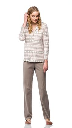 Pajamas Women, Pyjamas, Khaki Pants, Grey, Fashion, Gray, Moda, Khakis, Pajamas For Women