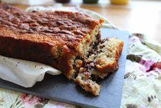 Olgas: Bananbrød/kage med chokolade